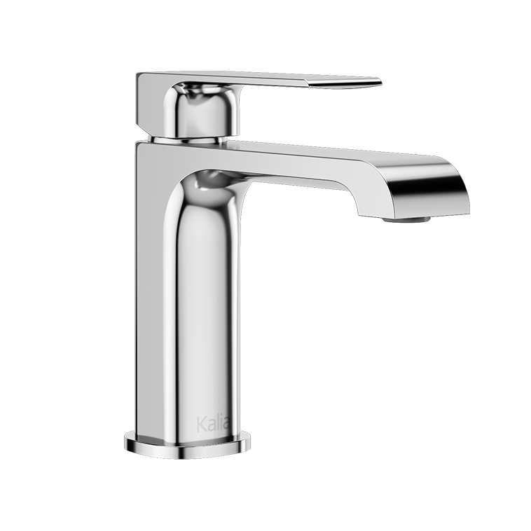 SOBRIO™  Single Hole Lavatory Faucet with Push Drain and Overflow Chrome-BF1779-110