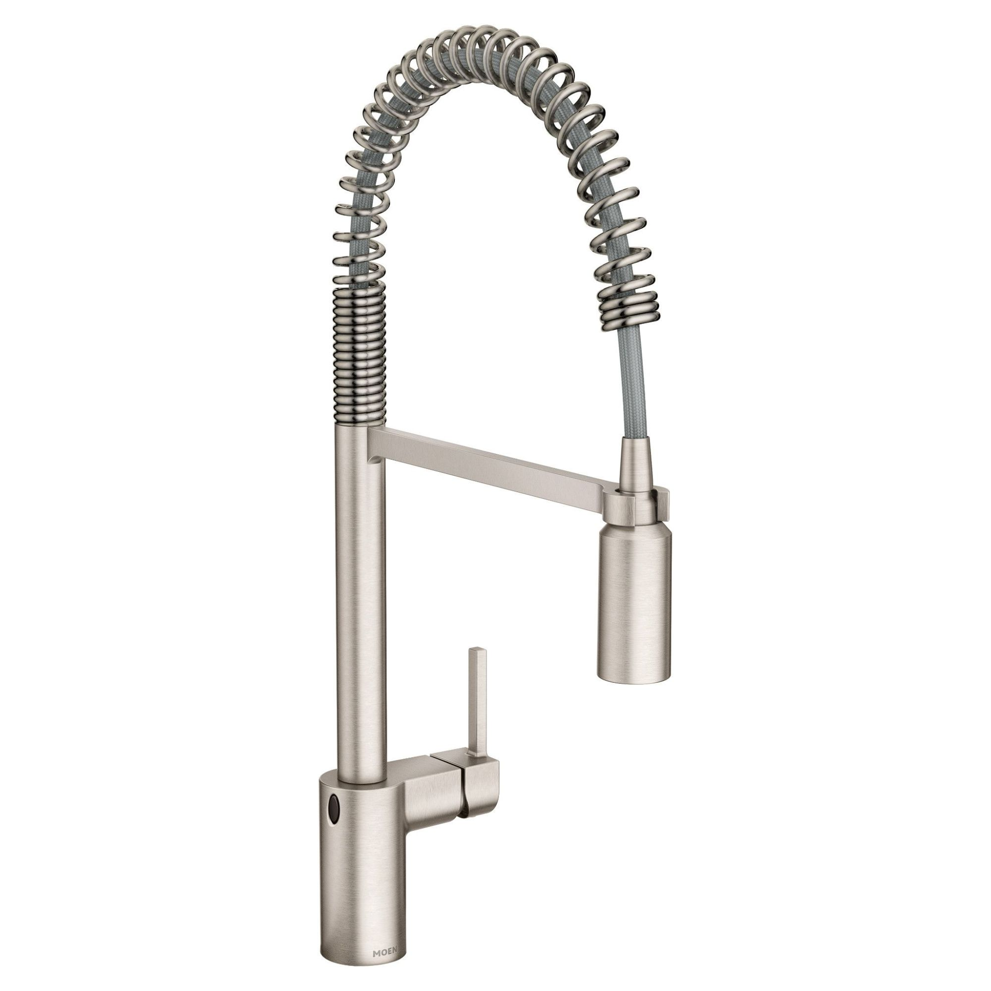 Align Spot resist stainless one-handle high arc pulldown kitchen faucet MOEN-5923EWSRS