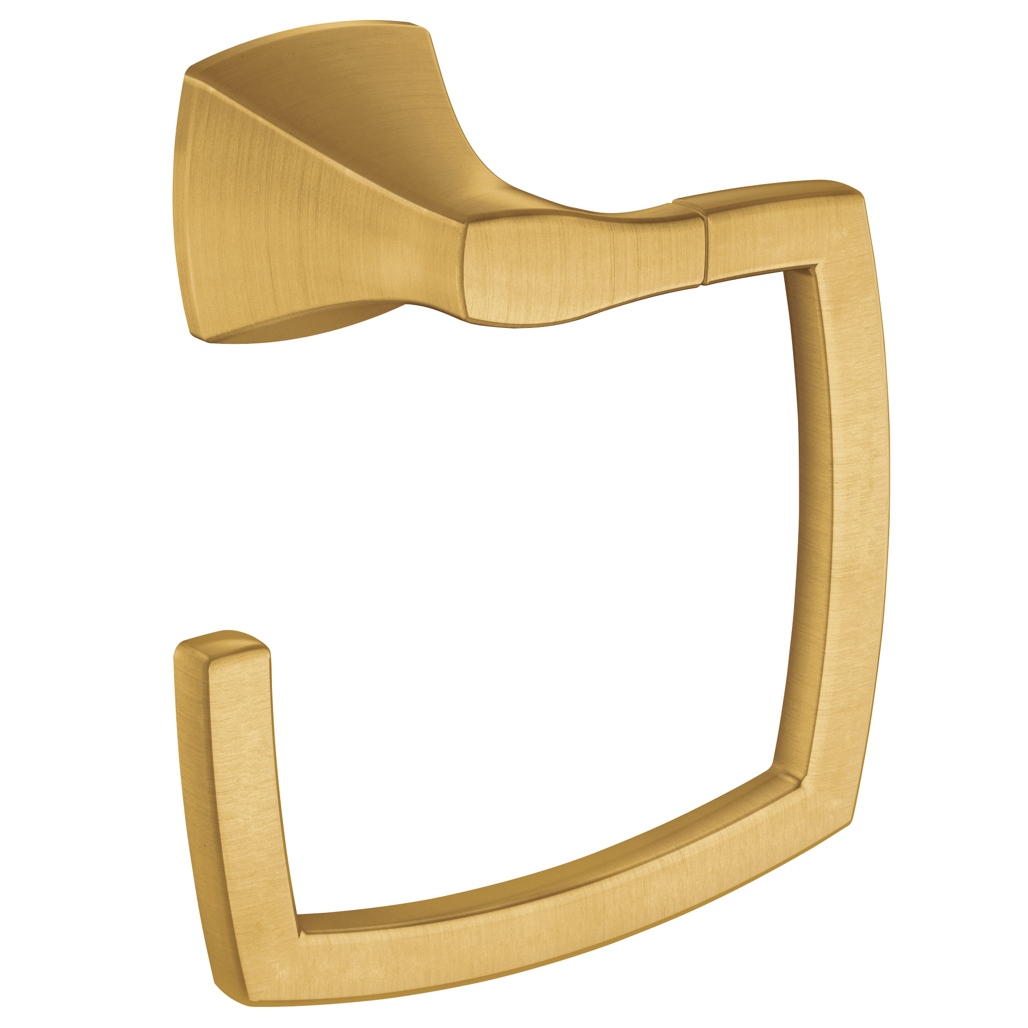 Voss Brushed gold towel ring MOEN-YB5186BG