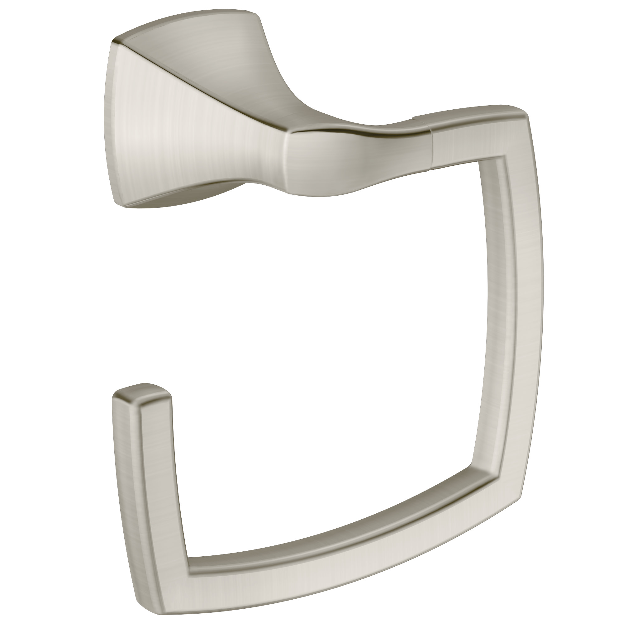 Voss Brushed nickel towel ring MOEN-YB5186BN