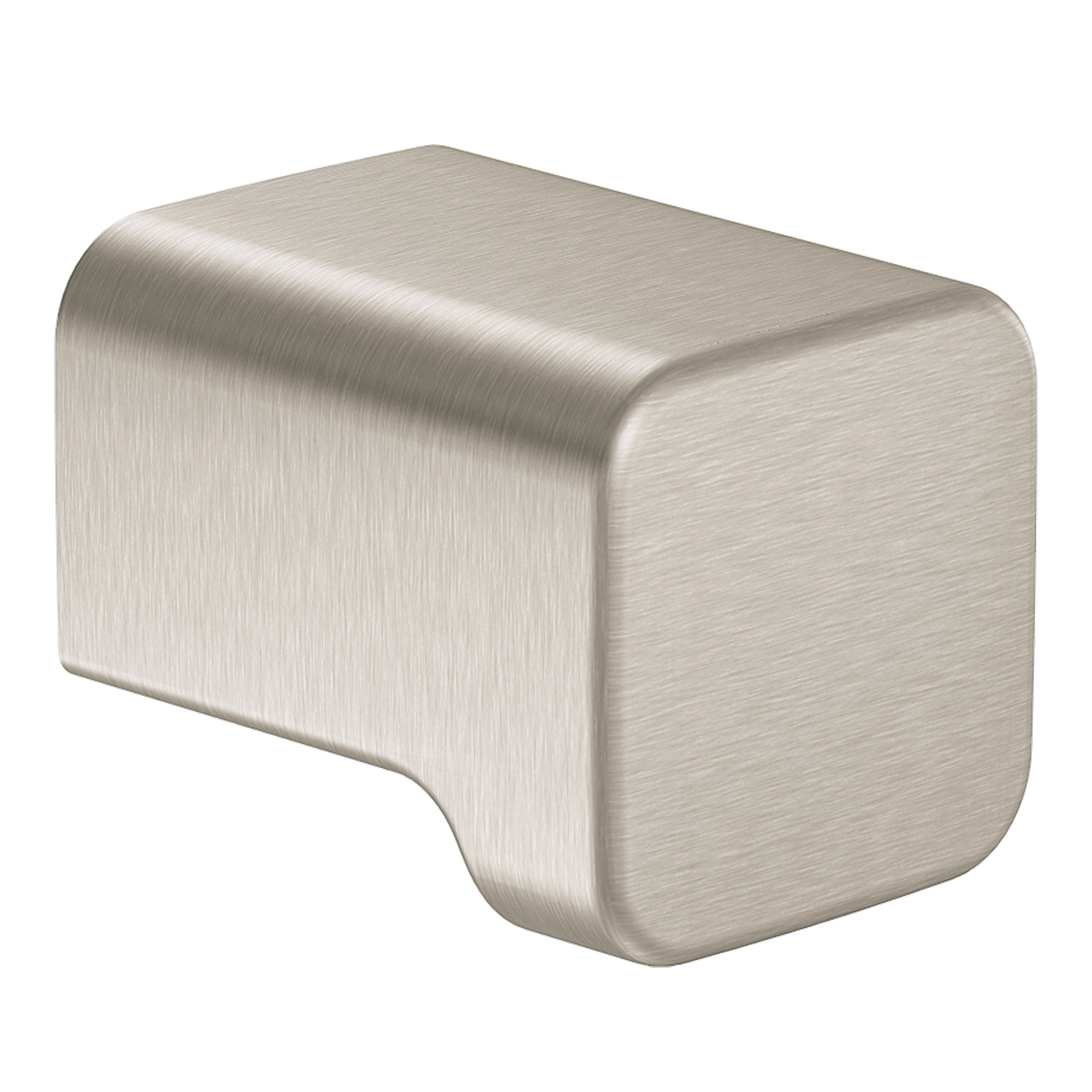 90 Degree Brushed nickel drawer knob MOEN-YB8805BN