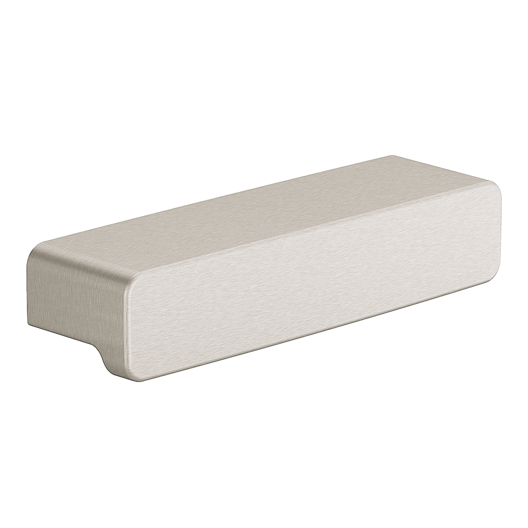 90 Degree Brushed nickel drawer pull MOEN-YB8807BN